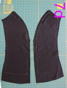Construction of Lining Front and Back