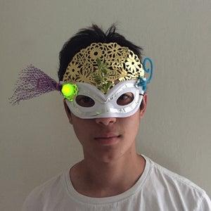 Light Up Super Hero Masks