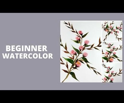 BEGINNER WATERCOLOR