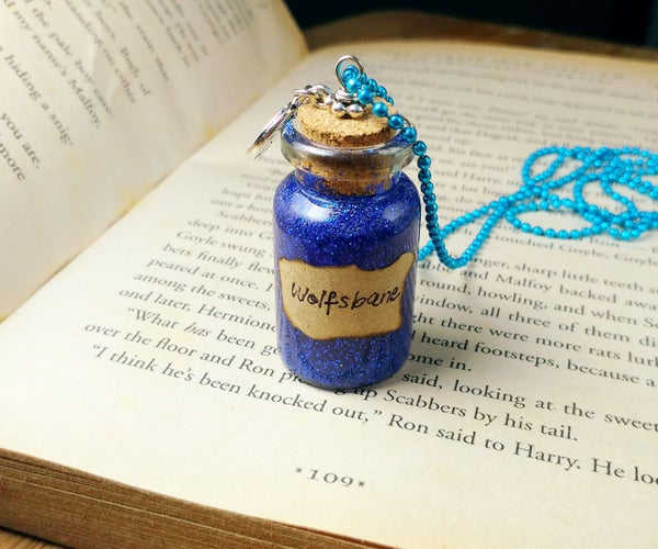 DIY Mystical Glass Vial Necklace