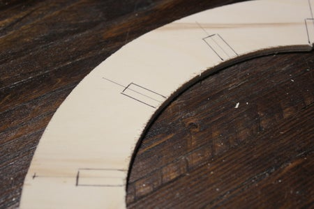 Cut Notches From Top Frame