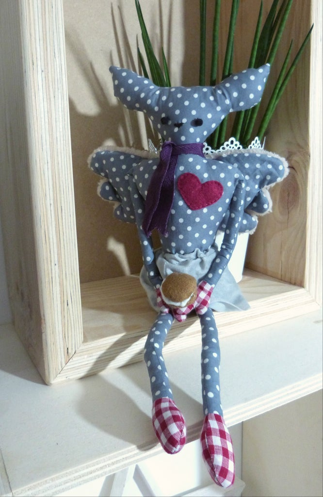 Lila, the Gourmet Soft Toy !