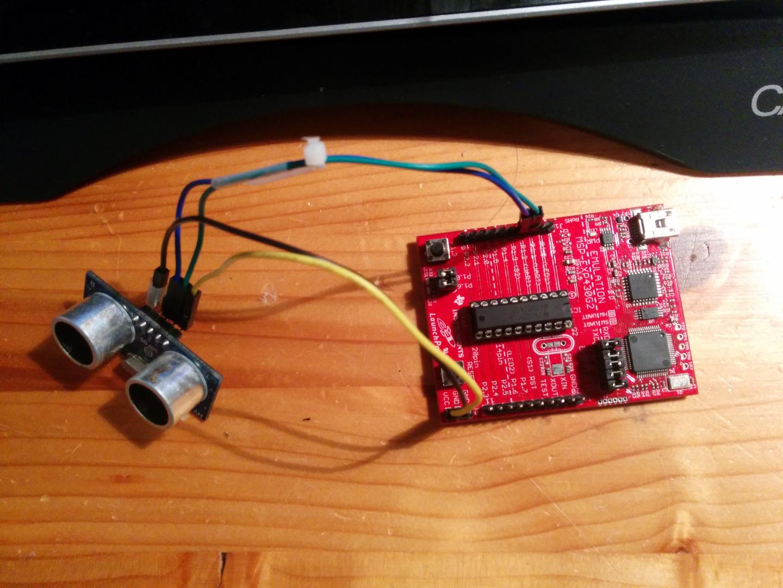 Ultrasonic Sensor with MSP430 and IAR/CCS