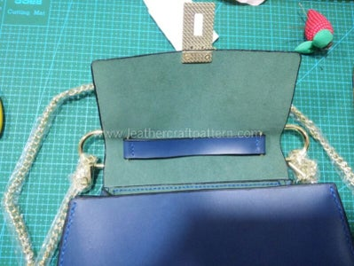 Install Tab Buttons With Hanger, the Bag Is Finished.