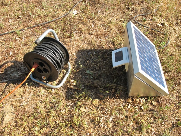 Solar Power Outlet