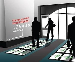 Piezo Tiles -Generate Electricity by Walking!!