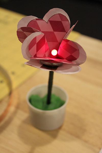 LED Paper Flower