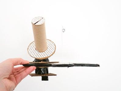 DIY Yarn Winder   Cardboard Knitting Gadget!