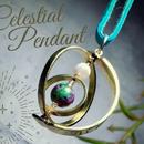 Hand-Forged Celestial Globe Pendant