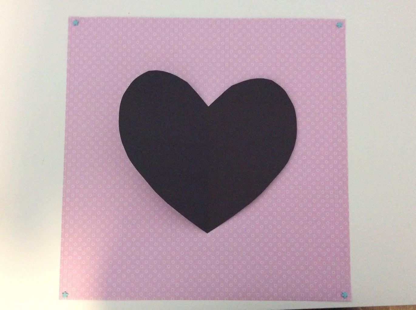 Paper Heart Outline