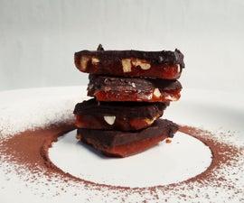 Smoked Paprika Chocolate Caramel Bars