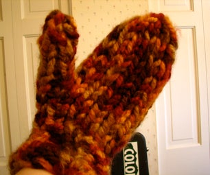Thick & Quick Knit Mittens