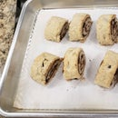 Pie Crust Cinnamon Rolls