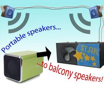 Balcony Speakers (PMB Pt3)