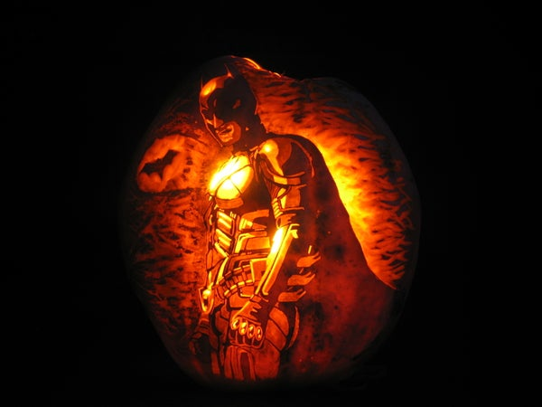 How to Carve... the Dark Knight