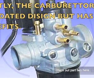 Carburettor Model, and How It Works,