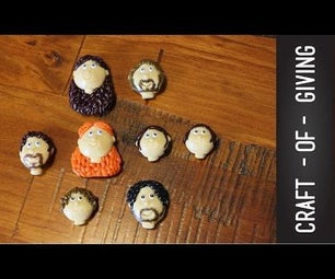 GAME OF THRONES - STARK FAMILY MAGNETS #2 | Craft of Giving