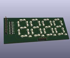 Custom Designed Seven Segment Using LED