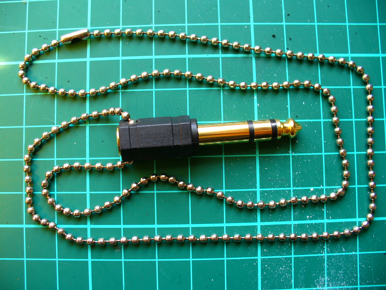 Make a 1/4 Inch Adaptor Necklace