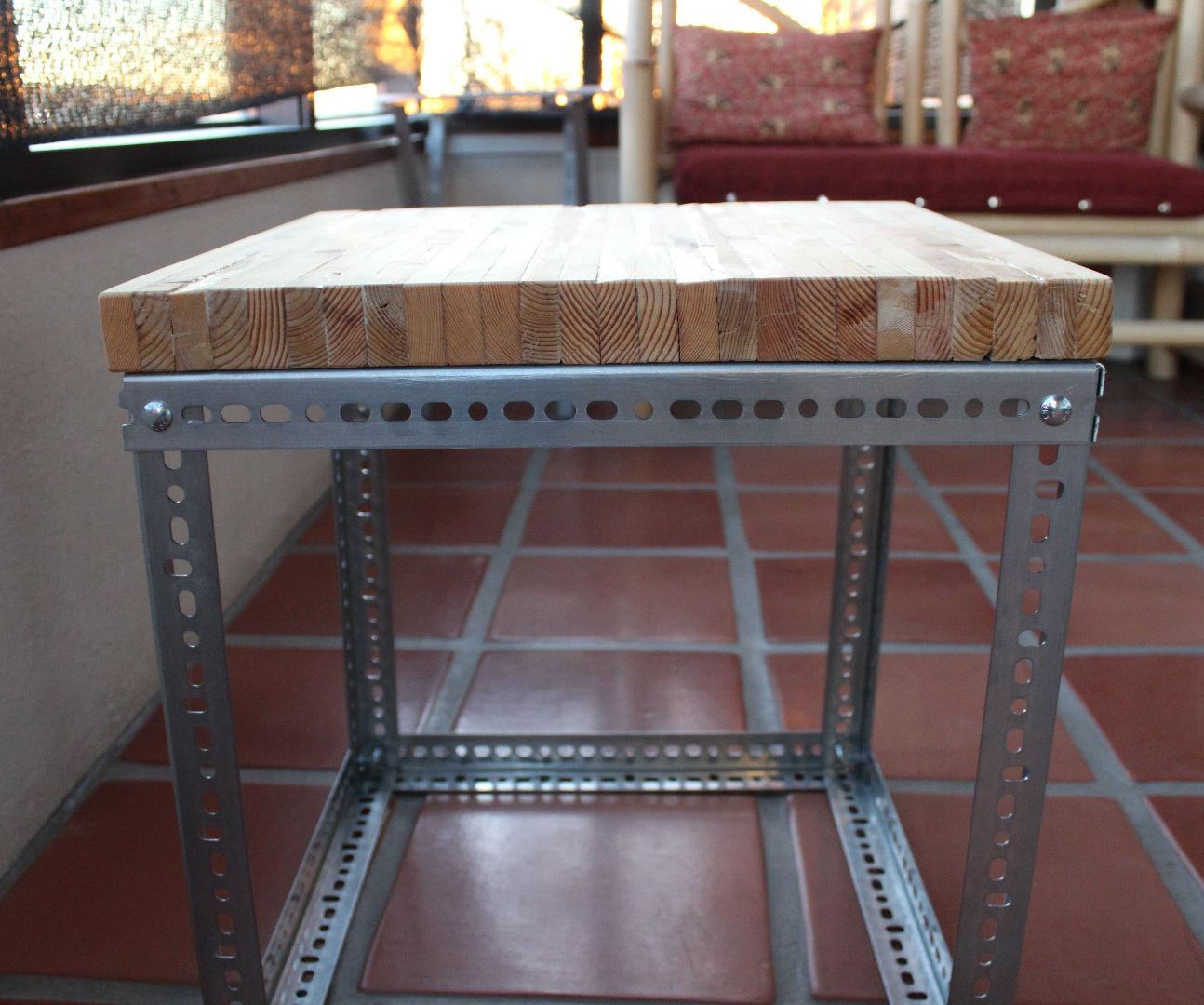 Modern/Industrial Pallet Table