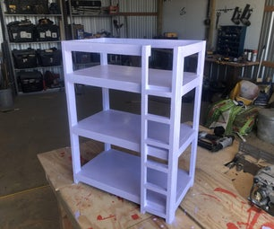 How to Make an American Girl Doll Bunkbed