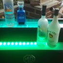 LED Liquor Shelf With Bluetooth Music