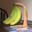 Wooden Banana Stand