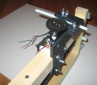 Building the X-axis