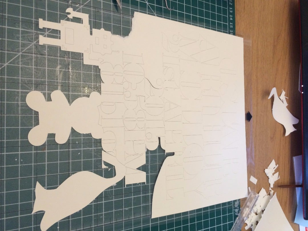 Cutting Out the Papercut