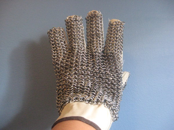 How to Make a Chainmail Glove
