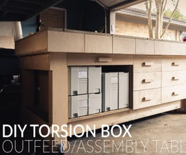 Torsion Box Outfeed Table
