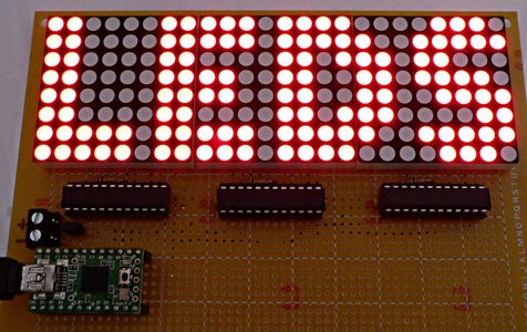 LED's Controlled Using C# Application and Arduino