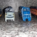 Comparing Some HO Scale Locomotives in the GP Series