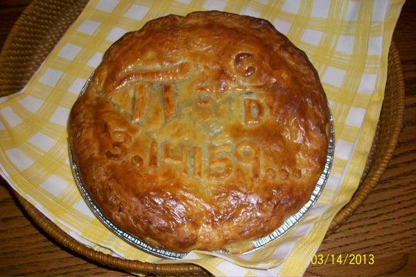 Spanako(Pi)ta Greek Spinach Pie