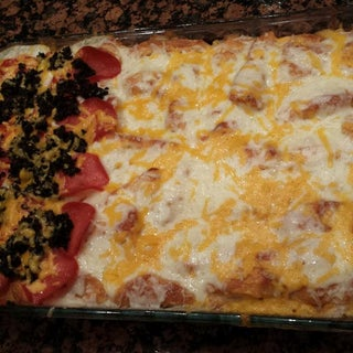 Pizza Casserole - the Best of Both Worlds!