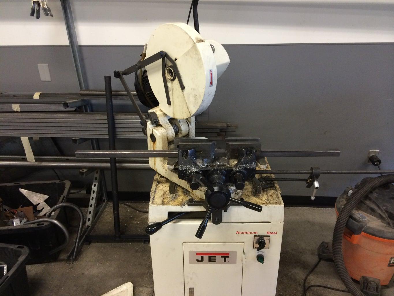 Table Base Fabrication - Cutting Steel Tube