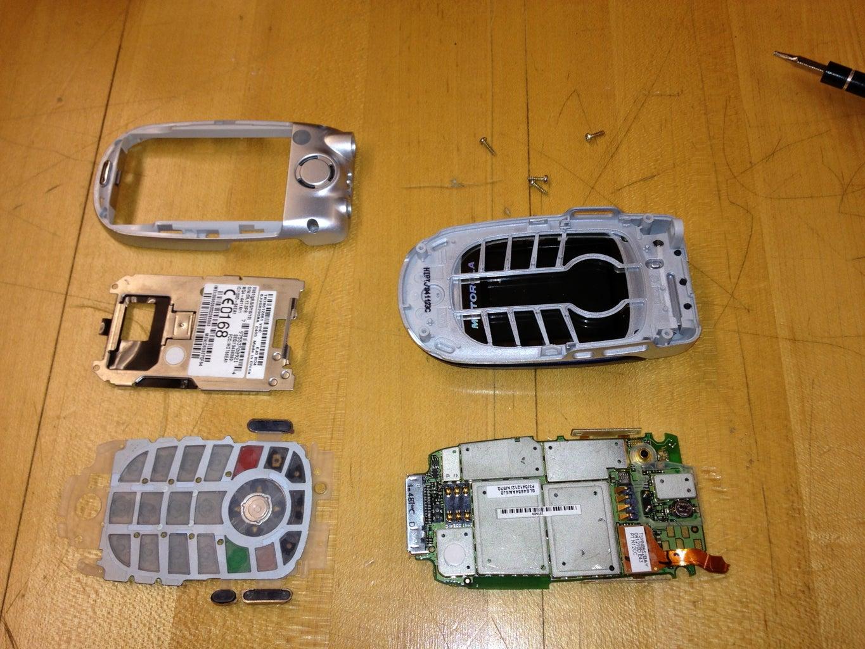 Disassembling Phone