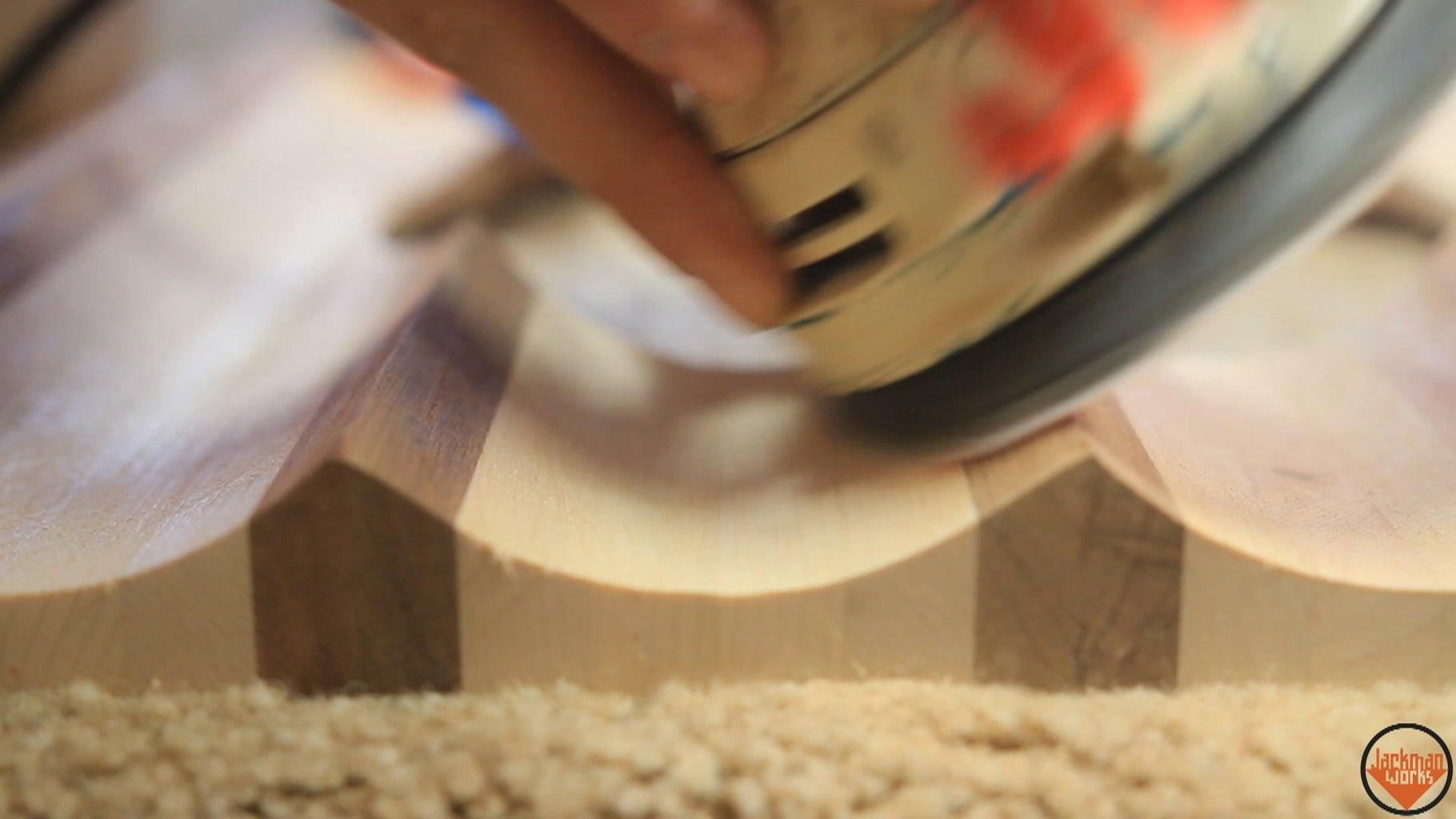 Final Sanding, Branding, & Finishing