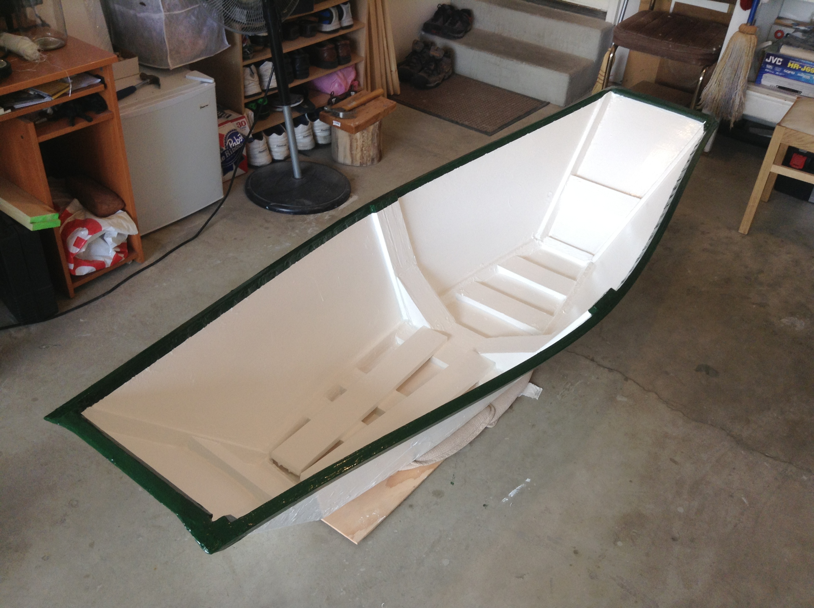 Cheap One-and-a-half Sheet Plywood Boat