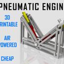 Pneumatic Engine - 3D Print a V2 Air Engine