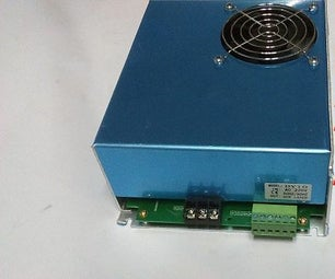 How to convert 220V to 110V on a Chinese CO2 Laser Power Supply