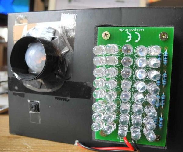 Make a Secret IR-camera Security Raspberry Pi Unit