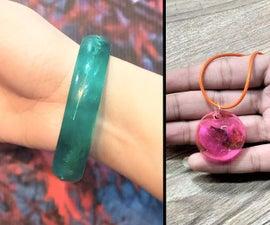 How to Make Resin Bracelet /Jewelry / Resin Art