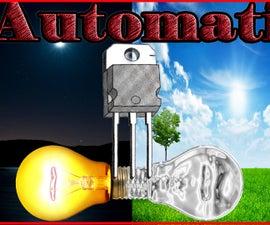 Make Automatic Night Light Switch Circuit Using Mosfet
