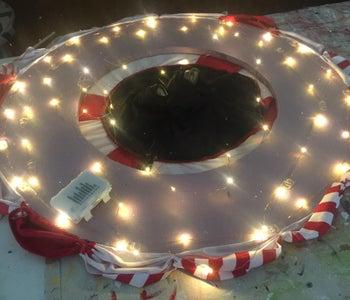 Add Lights to Bottom of Upper Foam Ring