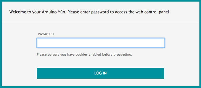 Setting Up Your Arduino Yun on the Wireless Network