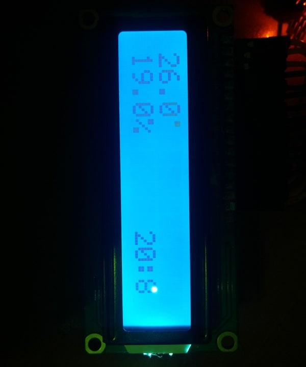 Arduino Nano With DHT11, RTC DS1307 and LCD 16x2