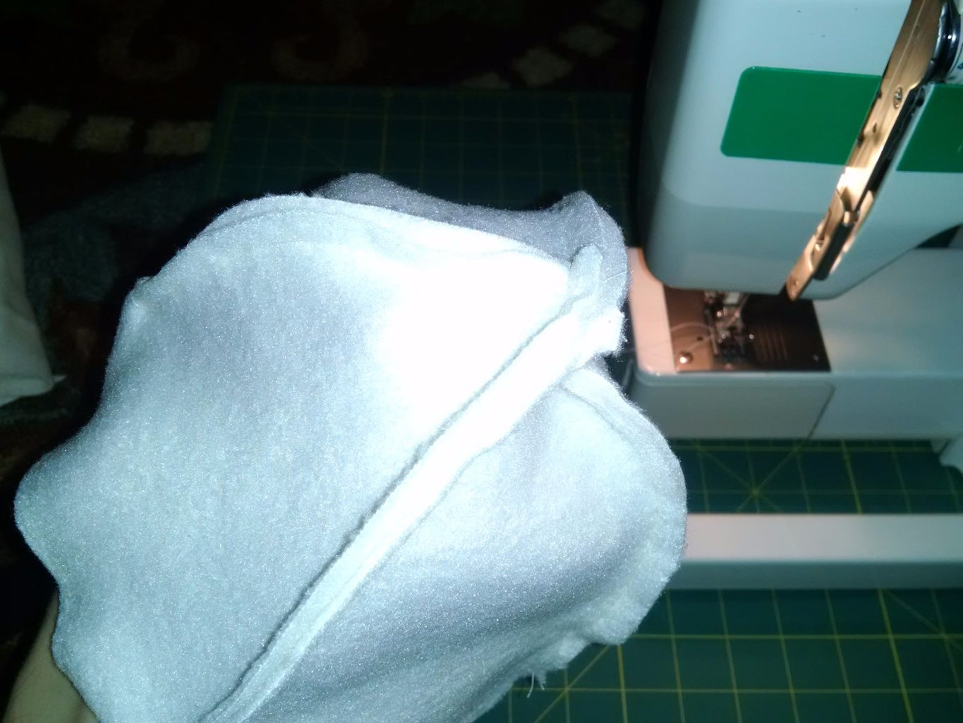 Sewing the Main Part (continued)
