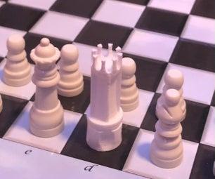 通过设计介绍孩子们去国际象棋!