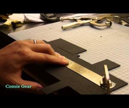 Make a DIY Kydex Pocket Organizer for EDC items and Moleskine hardcover notebook